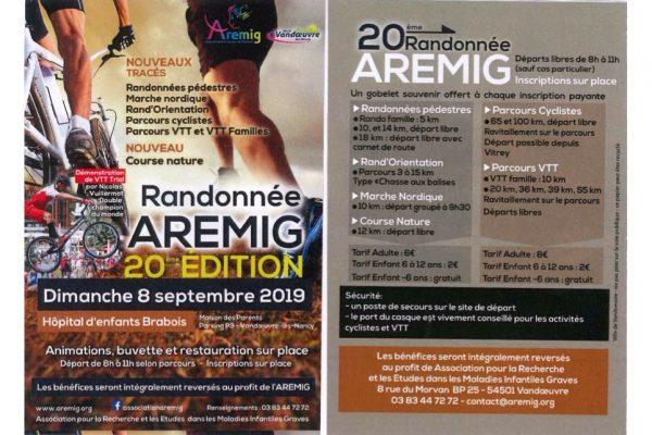 20è édition de la fête de la rando de l'AREMIG