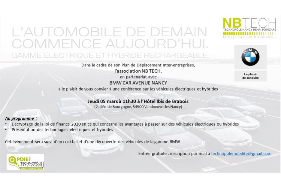 Conférence : l'automobile de demain commence aujourd'hui
