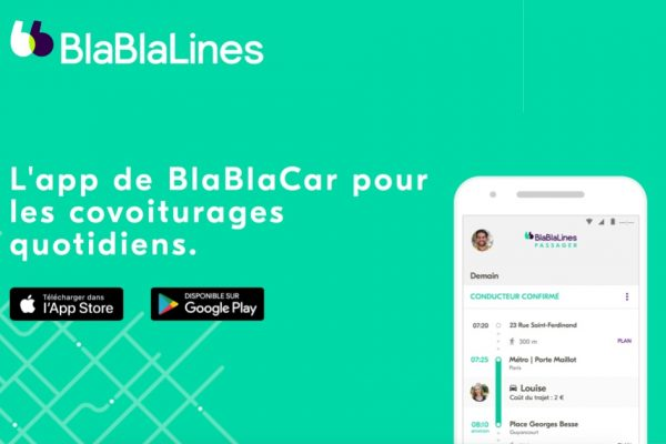 Co voiturage avec BlaBlaLines