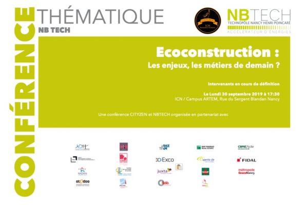 Conférence EcoConstruction