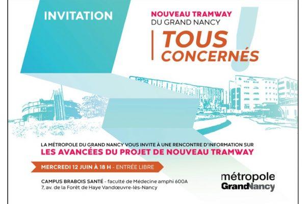 Réunion d'information sur le projet du nouveau Tramway