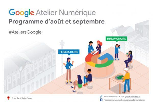 Rentrée de l'atelier numérique Google à Nancy