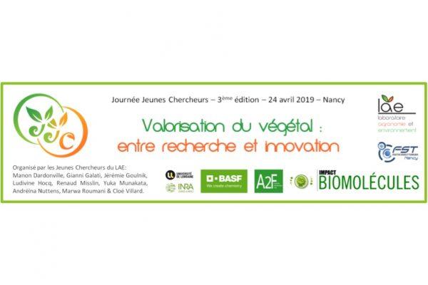 Colloque : «Valorisation du végétal : entre recherche et innovation»