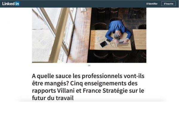 5 enseignements des rapports Villani et France Stratégie