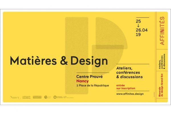 Conférences Matières & Design suite