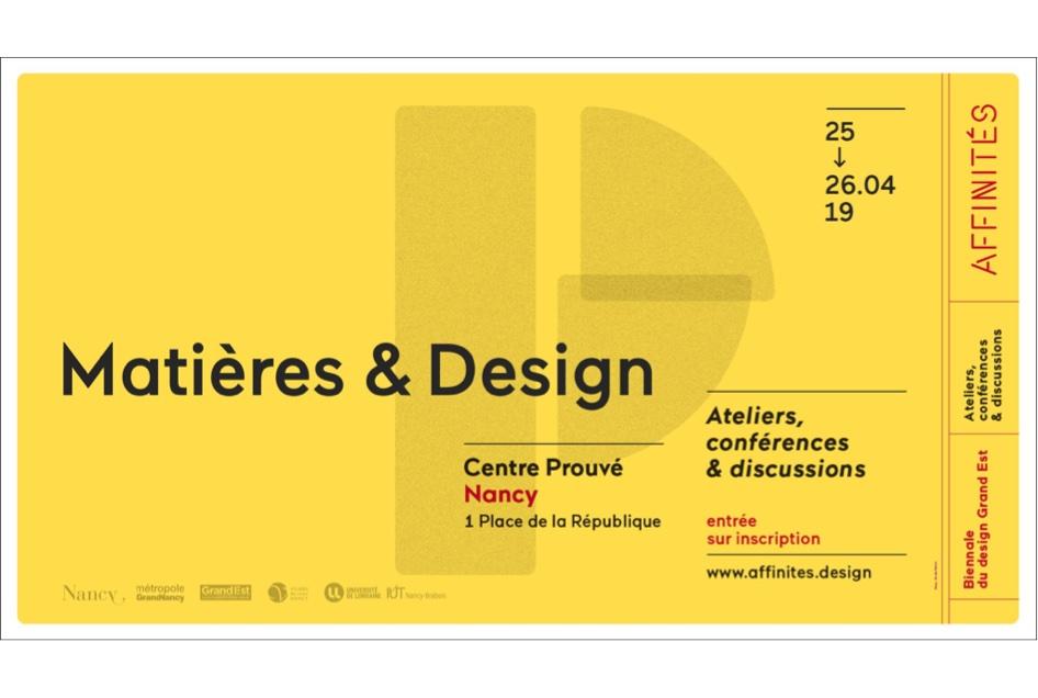 Conférences Matières & Design