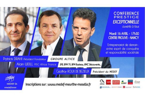 Conférence «Entrepreneuriat de Demain»