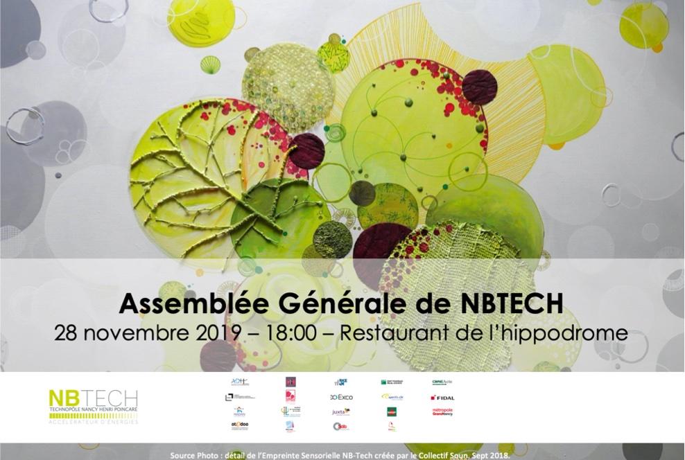 AG NBTECH  28/11/19 – 18:00 – Restaurant de l'hippodrome