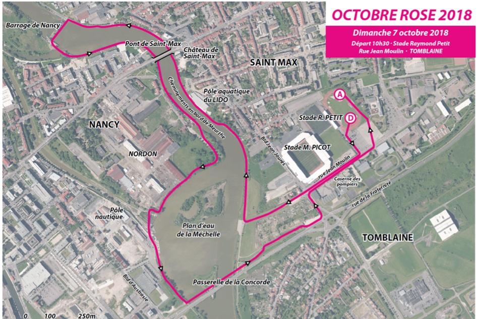 Course d'Octobre Rose 2018
