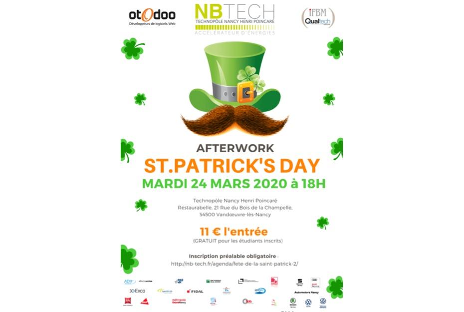 St Patrick 2020 : Les réservations sont ouvertes !!!