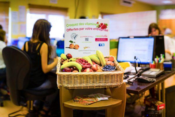 Livraison de paniers de fruits frais